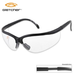 Gletcher Lightweight Clear Shooting Glasses