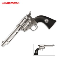 Colt Peacemaker Nickel And Black Air Pistol