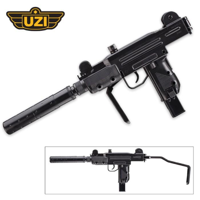 UZI Mini Carbine With Mock Silencer | CHKadels com