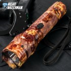 2-Million Volts Orange Camo Stun Gun Flashlight