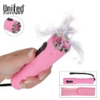 Shocklight Stun Gun Flashlight Pink with Pouch
