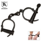 Functional Middle Ages Shackles Hand Cuffs Aged Appearance