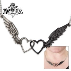 Wings Of Love Necklace