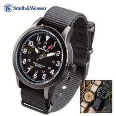 Smith & Wesson NATO Wristwatch - Canvas Band - Black