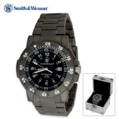 Smith & Wesson Executive Titanium Watch 45 mm