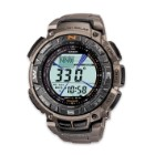 Casio Pathfinder PAG240T-7 Watch W/ Titanium Band