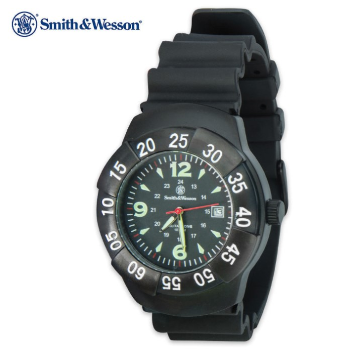 Smith & Wesson Military 100m Dive Watch