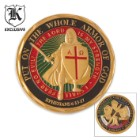 Armor of God Challenge Coin Good Luck Charm