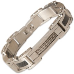 2013 Carbon Fiber Bracelet Mens