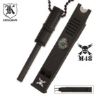 M48 Fire Striker/Whistle/Compass Necklace