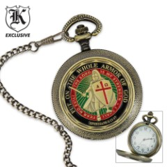 Armor of God Pocket Watch
