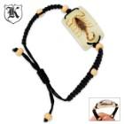 Real Scorpion Bracelet Golden Lucite Pendant
