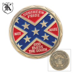 Heritage Not Hate Challenge Coin