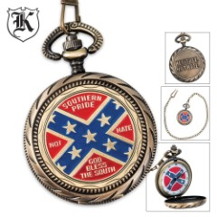 Heritage Not Hate Pocket Watch