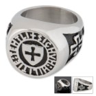 Shield Cross Ring