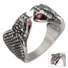 Twisted Roots Two-Headed Cobra Ring