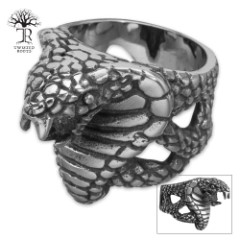 Twisted Roots King Cobra Ring