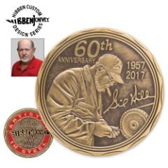 Gil Hibben 60TH Anniversary Collectors Coin