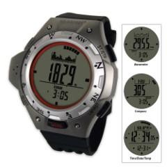 La Crosse XG-55 Digital Watch with Altimeter / Compass / Barometer