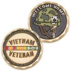 Vietnam Veteran Helmet Challenge Coin