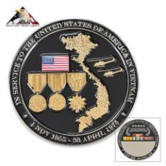 Engravable Vietnam Veteran Tribute Coin