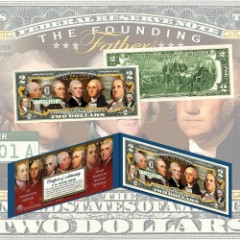 Founding Fathers Two-Dollar Bill