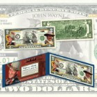 John Wayne The Duke Two-Dollar Bill