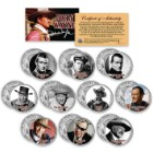 John Wayne JFK Half Dollar Coin Set – Set Of Ten
