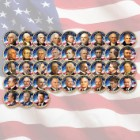 Complete Collection Of Presidential Dollars – 39 Coins