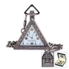 1920s Triangular Masonic Pocket Watch