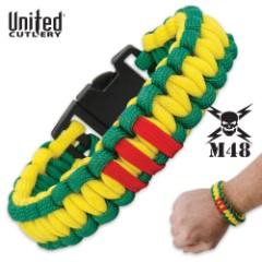 Vietnam Tribute Paracord Bracelet