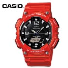Casio Ana-Digi Solar Gloss Red And Black