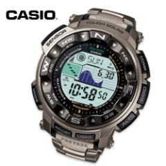 Casio Pro Trek High Performance Wristwatch With Thermometer