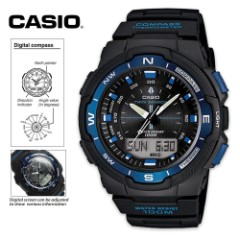 Casio Sport Watch With Sunrise Sunset Data