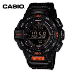 Casio Pro Trek Solar Triple Sensor Tactical Watch