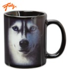 Just Funky Mountain Series Siberian Husky Face 11-oz. Coffee Mug