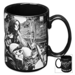 "David Gonzales ""Highway To Hell"" Coffee Mug - 16 oz"