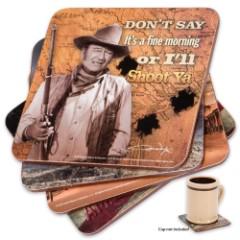 John Wayne Drink Coasters - Set of 4