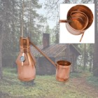 Beginners 3-Gallon Copper Moonshine Still – Handmade in USA