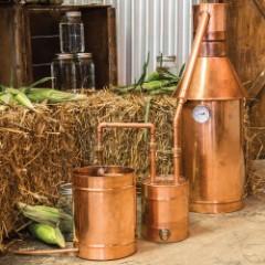 6 Gallon Copper Moonshine Still with Thumper Keg