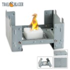 Trailblazer Folding Pocket Stove With Four Fuel Tablets
