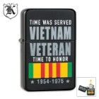 Vietnam Veteran Time To Honor Windproof Lighter