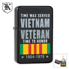 Vietnam Veteran Time To Honor Windproof Lighter