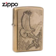 Zippo Where Eagles Dare Emblem Lighter