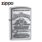 Zippo Jim Beam Emblem High Polish Chrome Lighter