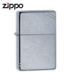 Zippo Street Chrome Brushed Chrome Windproof Lighter