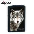 Zippo Electric Wolf Black Matte Lighter