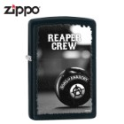 Zippo Sons Of Anarchy Reaper Crew Black Matte Windproof Lighter