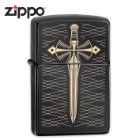 Zippo Ebony Two Tone Sword Lighter