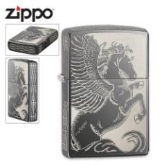Zippo Choice Pegasus Black Ice Lighter